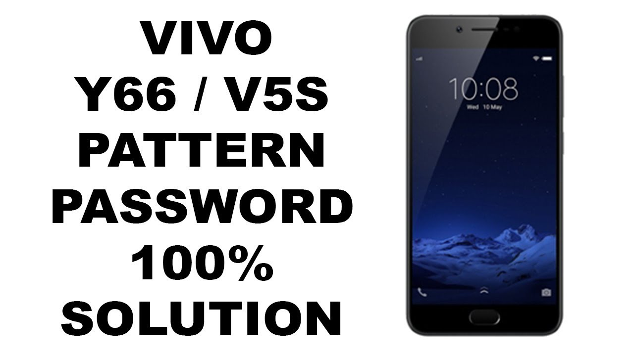 Vivo Y66 / V5S Pin, Password, Pattern remove 100% via firmware Flashing by  Techno Trooper