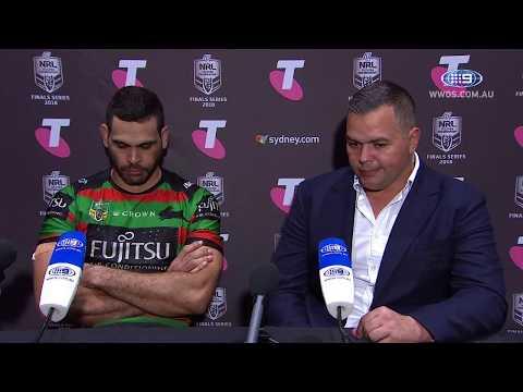 NRL Press Conference: South Sydney Rabbitohs - Preliminary Final