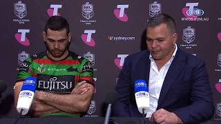 NRL Press Conference: South Sydney Rabbitohs - Preliminary Final