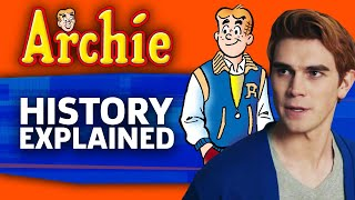 The History Of Archie   Riverdale Explained