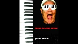 Blues Rock  Funky Piano SOLO INSTRUMENTAL    by mark salona