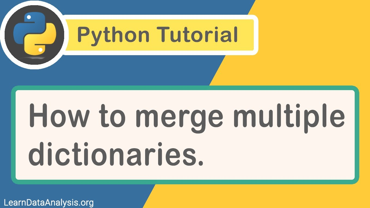 How to Merge Multiple Dictionaries with a Single Line of Code in Python