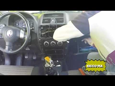 INSTALLAZIONE MONITOR 2DIN GPS BLUETOOTH ANDROID FIAT SEDICI