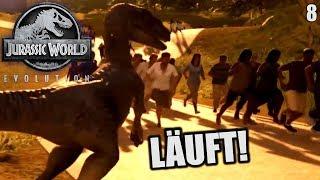 Jurassic World Evolution Deutsch #8 ► Läuft! ◄| Let