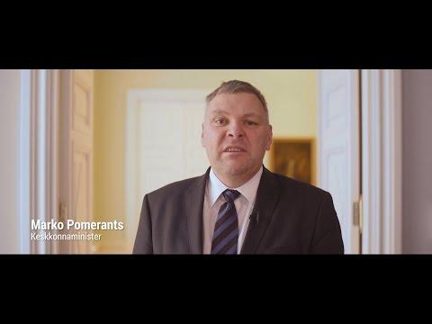 Keskkonnaminister Marko Pomerants Vabariigi Valitsuse 100 päeva tegevustest
