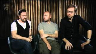BAFTA Big Questions: Ricky Gervais, Karl Pilkington & Stephen Merchant