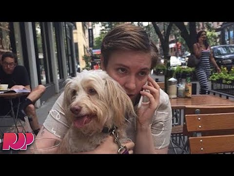 Lena Dunham Got Rid Of Her Dog And People Are Sick Of Her Shit