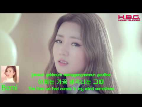 Apink 에이핑크 'LUV' (러브) MV(Korean/English/Romanization)