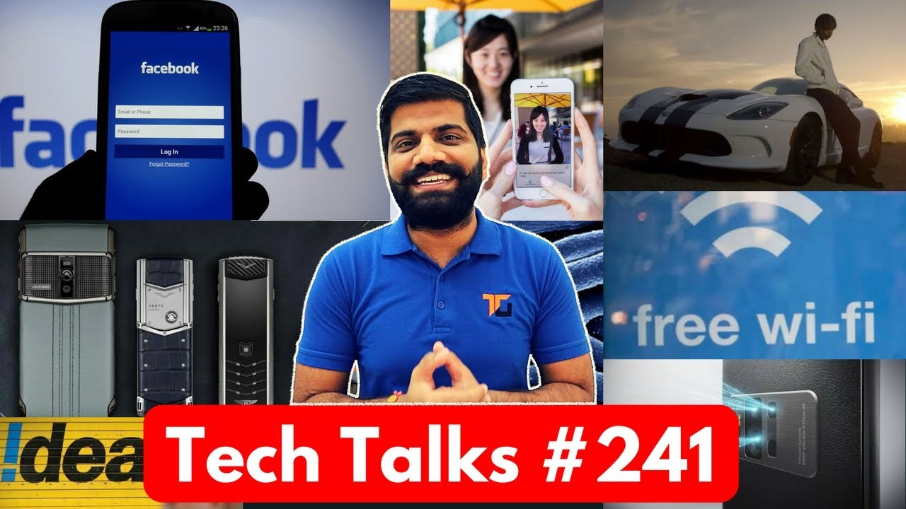 Tech Talks #241 - Idea & Aircel Plan, Nokia 2, Asus Zenfone AR, Vertu Down, Seeing AI, Public Wi