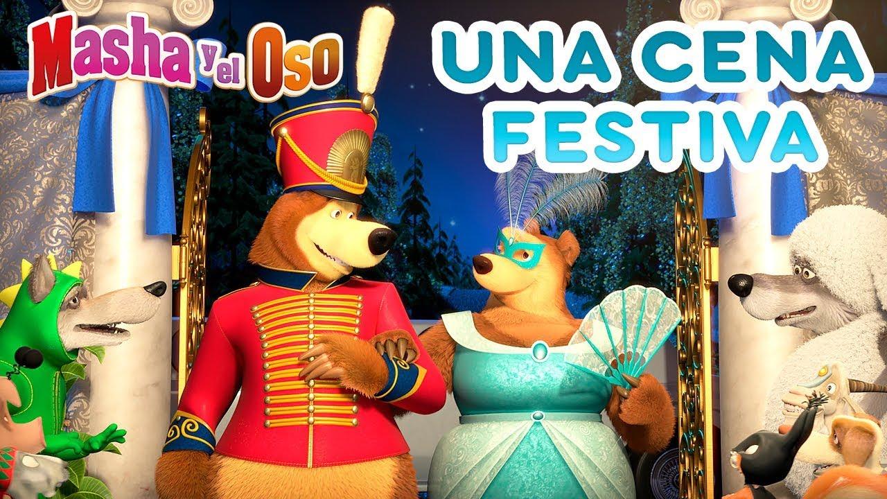 Download Masha y el Oso - 🍍 Una Cena Festiva 🎉