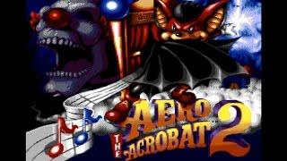 [Eng] Aero the Acro-Bat 2 - Complete Walkthrough (Sega Genesis) [1080p60][EPX+]