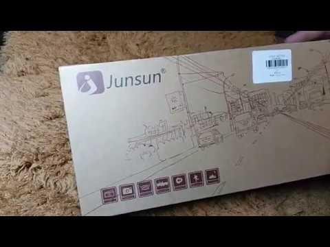 видео регистратор зеркало Junsun E515 за 90$ с gearbest