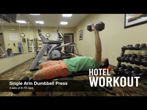 Hotel Gym Workout | Build Muscle When Traveling | Carolina Indoor Soccer