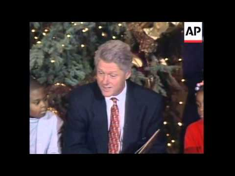 USA: CHILDREN'S ANNUAL CHRISTMAS VISIT TO THE WHITE HOUSE