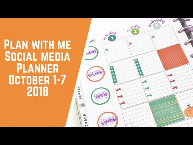 social-media-planner-plan-with-me-october-1-7-2018