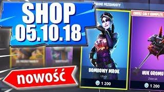 the shop Fortnite 05.10.18   Dark Color Bomb! + Dark Tęczorożec.? -Item shop October 5.10