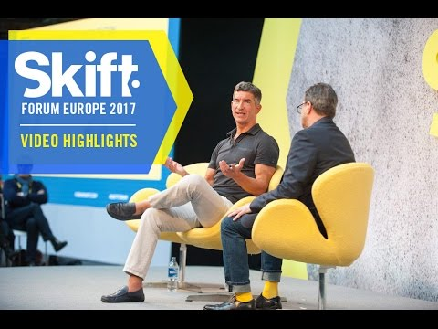 Kayak CEO Steve Hafner at Skift Forum Europe 2017
