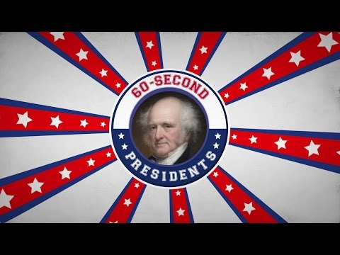 Martin Van Buren | 60-Second Presidents | PBS