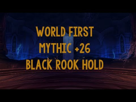 WORLD FIRST M+ 26 BLACK ROOK HOLD - Fire Mage PoV