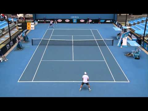 SF - Benjamin Mitchell vs John-Patrick Smith - Australian Open 2015 Play-off Highlights