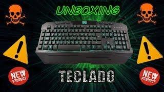 unboxing teclado bg n8hawk en espaol