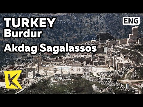 【K】Turkey Travel-Burdur[터키 여행-부르두르]아크다으산 고대도시 사갈라소스/Akdag/Sagalassos/Ancient city/Amphitheater