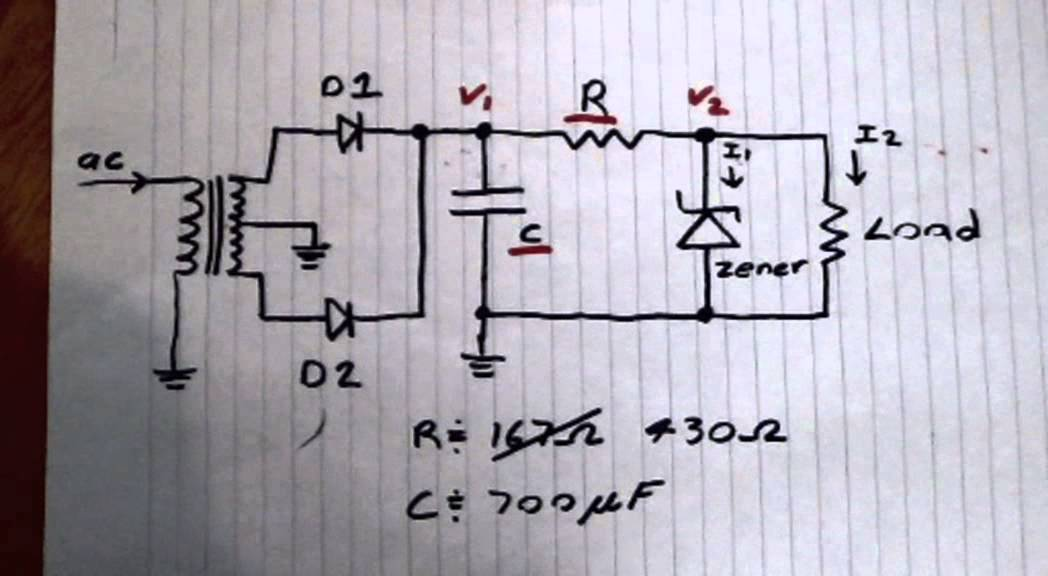 5v Dc Power Supply  Part 1 Of 3