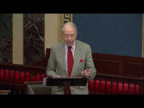Grassley: The Free Press Should Do More to Defend Free Speech