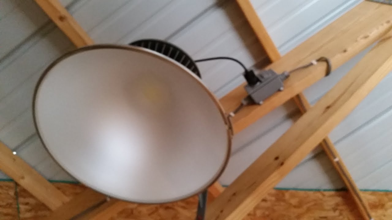 Led High Bay Morton Pole Barn Lighting