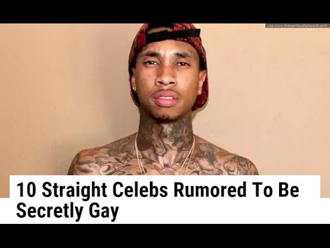 10 Straight Celebs Rumored To Be secret gay hollywood from YouTube · Duration:  10 minutes 2 seconds