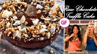 Raw Chocolate Truffle Cake With Yvonne Ardestani Of My Eclectic Kitchen