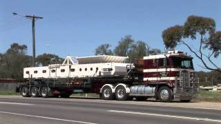 Australian Trucks: B-Doubles and Semi