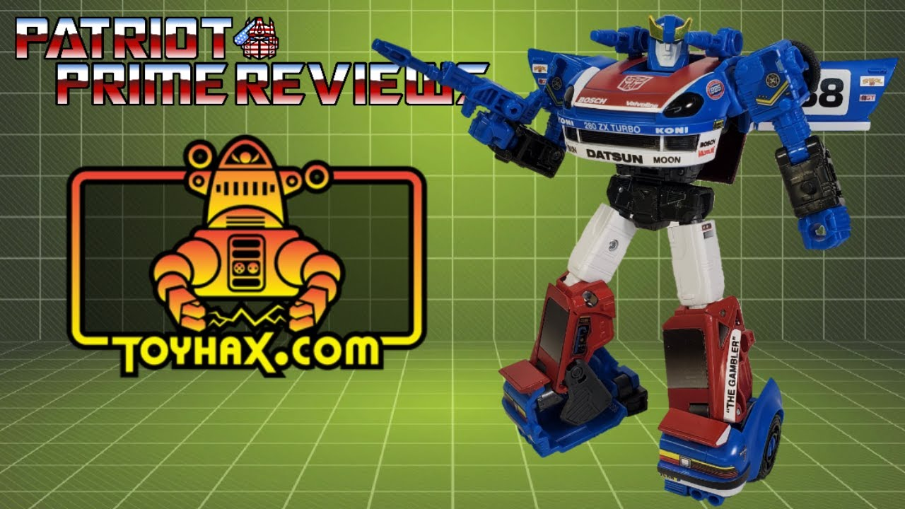 Patriot Prime Reviews Toyhax Decal Set for Earthrise Smokescreen
