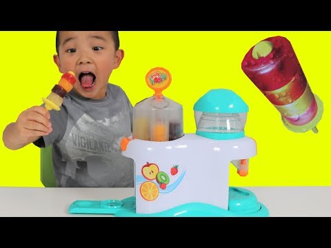 Download Youtube: Making Icy Pop Fruity Hoops Factory Fun DIY Yummy Kids Popsicle Maker Ckn Toys