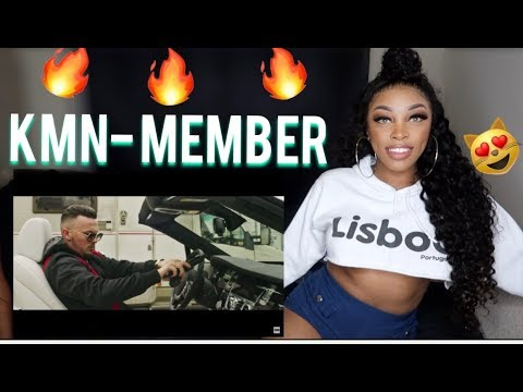 KMN GANG - KMN MEMBER (prod. LUCRY x ABOOM) [REACTION] | Ashley Deshaun