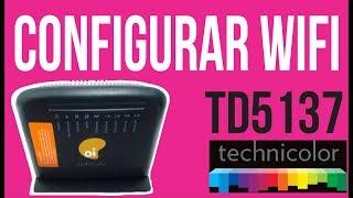 Technicolor TD5137 Configurar Wifi - Quer trocar a senha do wifi?