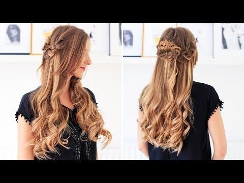 Bohemian Hairstyle | Luxy Hair