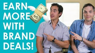 How Make More Money on YouTube with Brand Deals and Sponsorships — 3 Tips