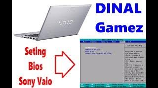 Cara Seting Bios di Laptop SONY VAIO