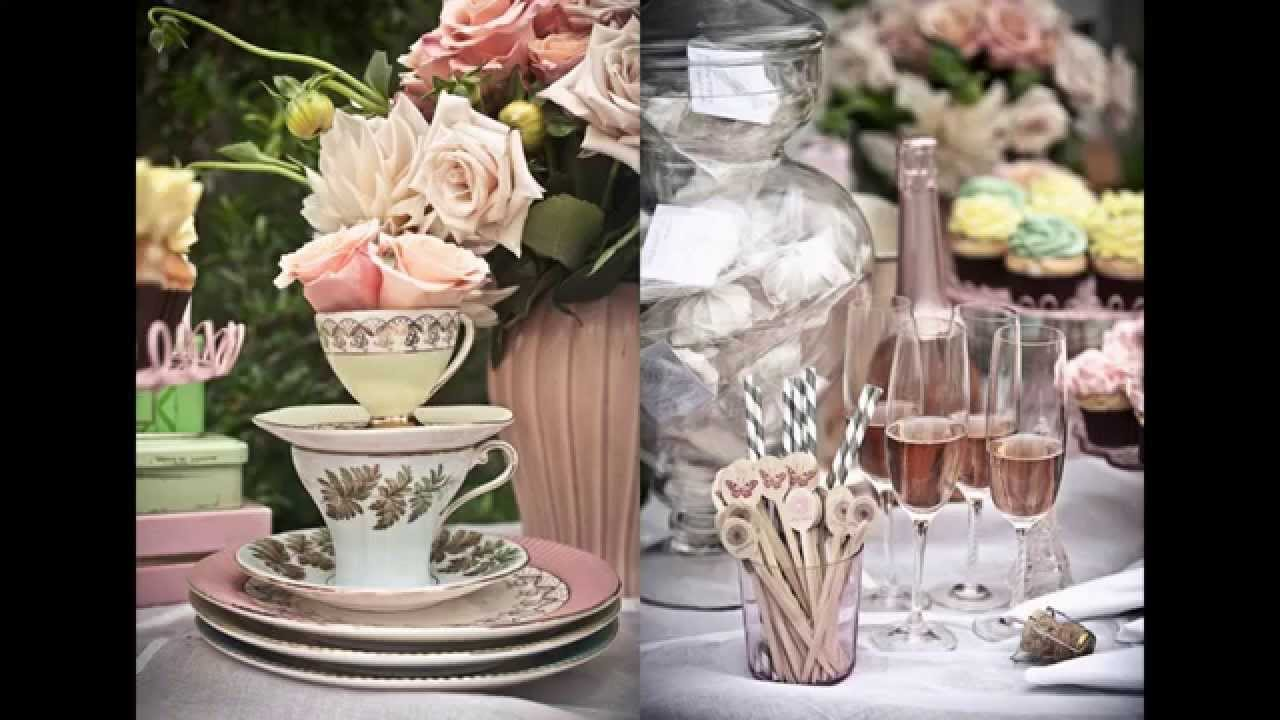 Fascinating Tea Party Bridal Shower Ideas
