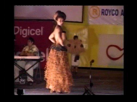 Miss Heilala Island Creation - Miss Appraxus Tonga/New Zealand 2008