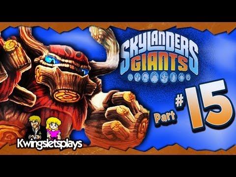 Skylanders Giants - Walkthrough Part 15 Karaoke Drill-X! (WiiU)