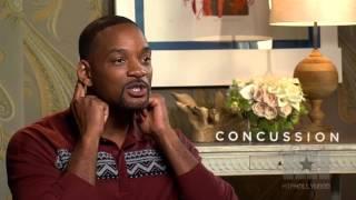 Will Smith Pokes Fun at his Nigerian Accent in Concussion