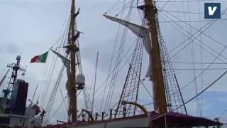 In tanti al Porto di Vasto per vedere la nave Palinuro