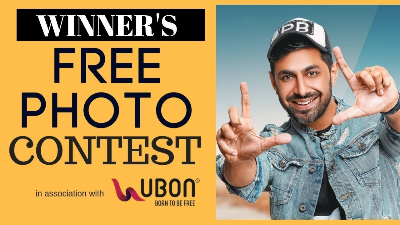 Free Photoshoot Contest Winner | Praveen Bhat | Modeling Acting Tips | Ubon | Instagram PhotoContest