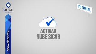 Activar Nube SICAR (SICAR Versión 1.8)