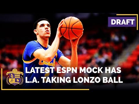 NBA Draft 2017: ESPN Mock Has Lakers Selecting UCLA's Lonzo Ball