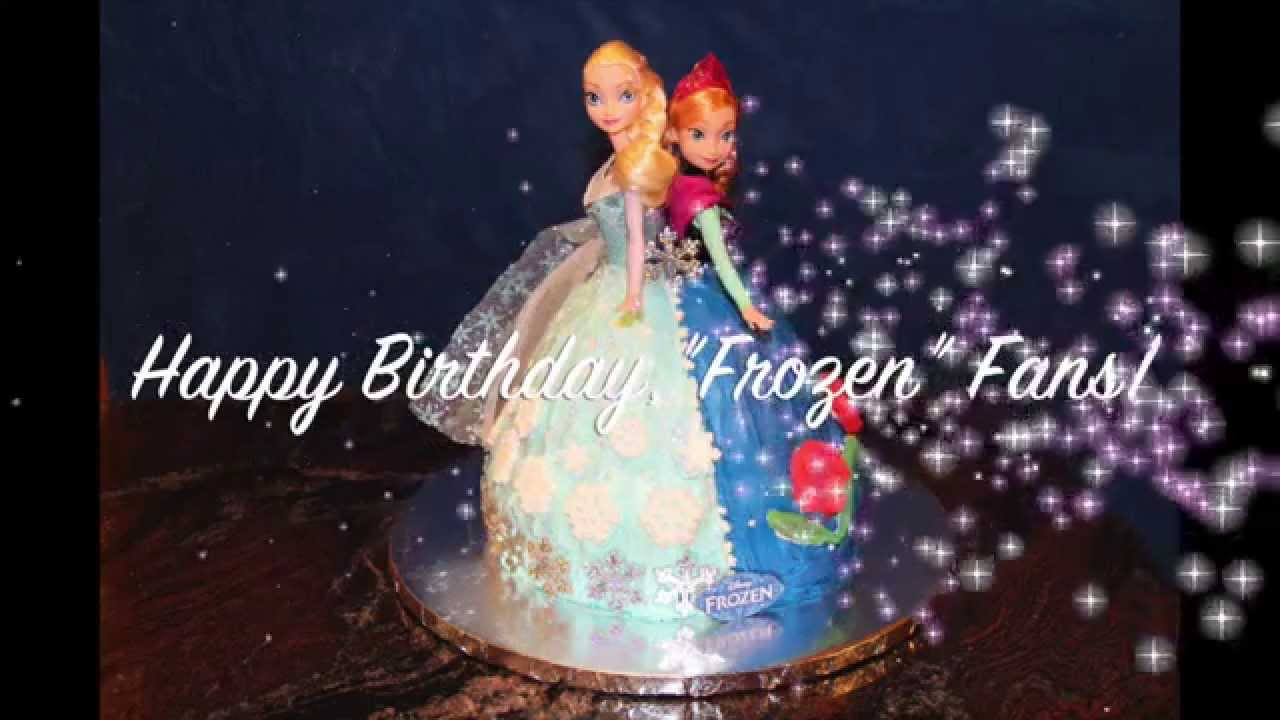 Elsa Cake Site Youtube