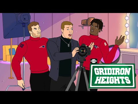 Gronk Is the Photographer for Playoff Picture Day | Gridiron Heights S4E15