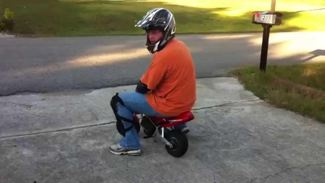 Custom Ride Ons 24v Razor Pocket Rocket Motorcycle By Hozian